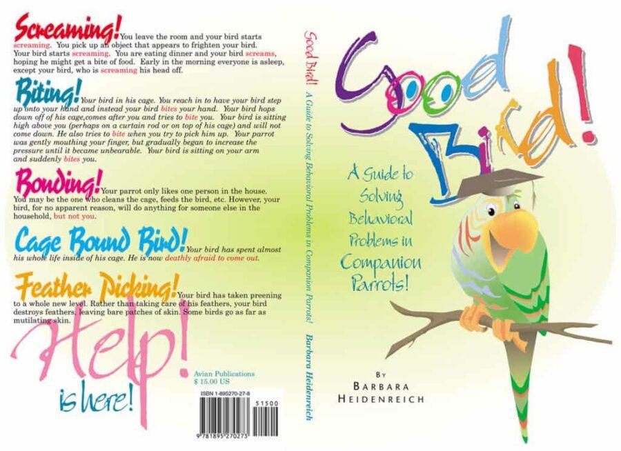 Good Bird Book Cover - Print & Production by Silvio Mattacchione & Co. Silviosfarm.com