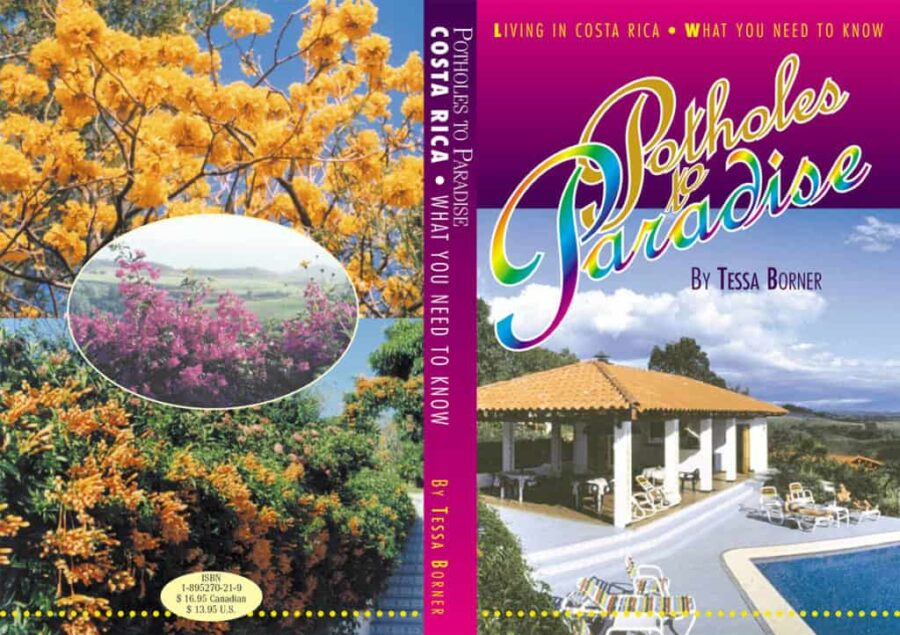 Potholes to Paradise Book Cover - Published by Silvio Mattacchione & Co. Silviosfarm.com
