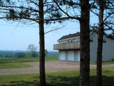 Racing Pigeon Loft at Silvio's Farm in Port Perry ON