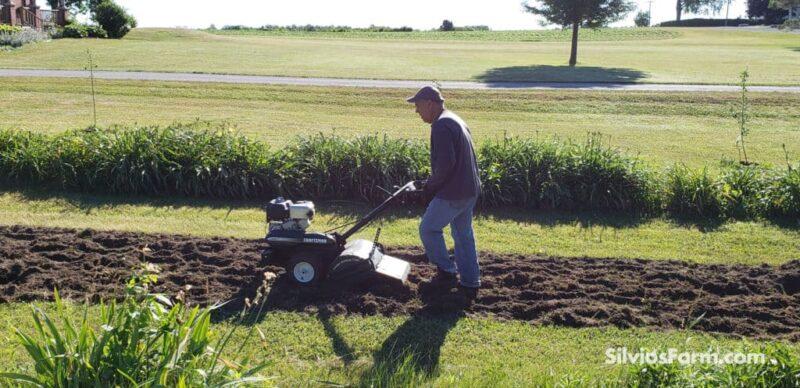 Tilling the Land at Silvio's Farm