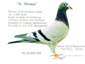 St. Thomas Winner of 23 Combine Prizes