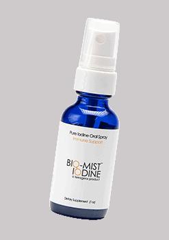 Bio Mist Iodine 1oz - 150 Servings per Bottle - Available at https://Silviosfarm.com/bio-mist-iodine/